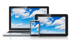 Cloud Computer, Tablet, Phone