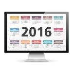 2016 computer calendar