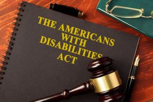 72219825 - book with title the americans with disabilities act (ada).